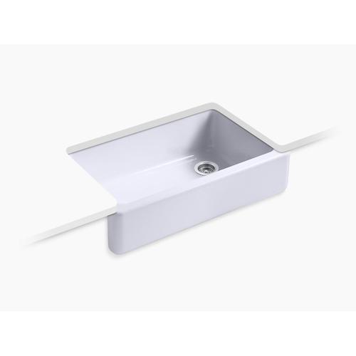 Lavender Grey Undermount Single-bowl Farmhouse Kitchen Sink