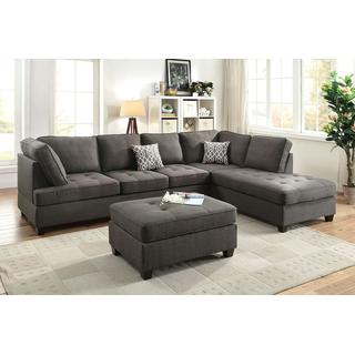 Midnight Sectional Reversible