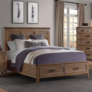 See Details - Alta Queen Storage Bed  Harvest