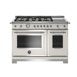 """48"""" Heritage Series range - Gas Oven - 6 brass burners + griddle Product Image"""