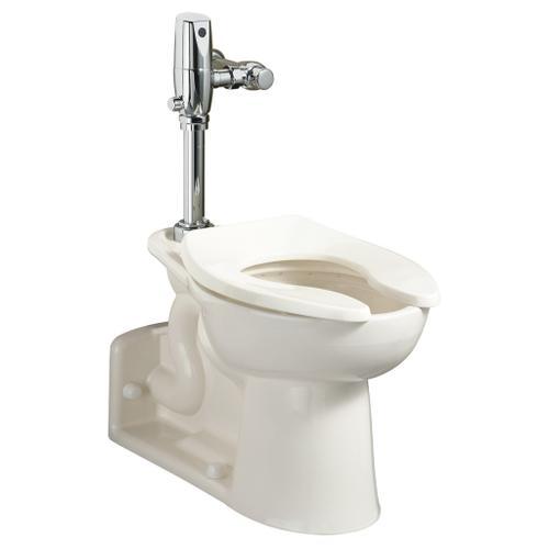 American Standard - Priolo 1.1-1.6 gpf EverClean Universal Flushometer Toilet - White