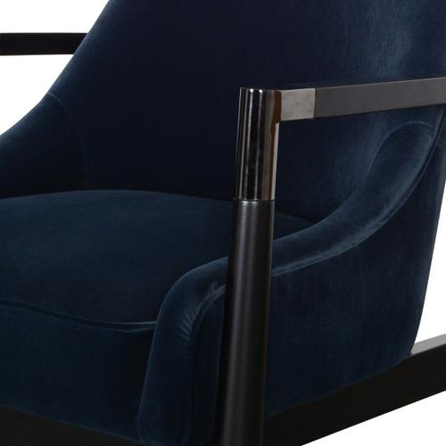 Classic Home - Austin Accent Chair Midnight Blue