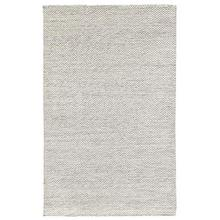 Heathered Wool Ivory 5x8