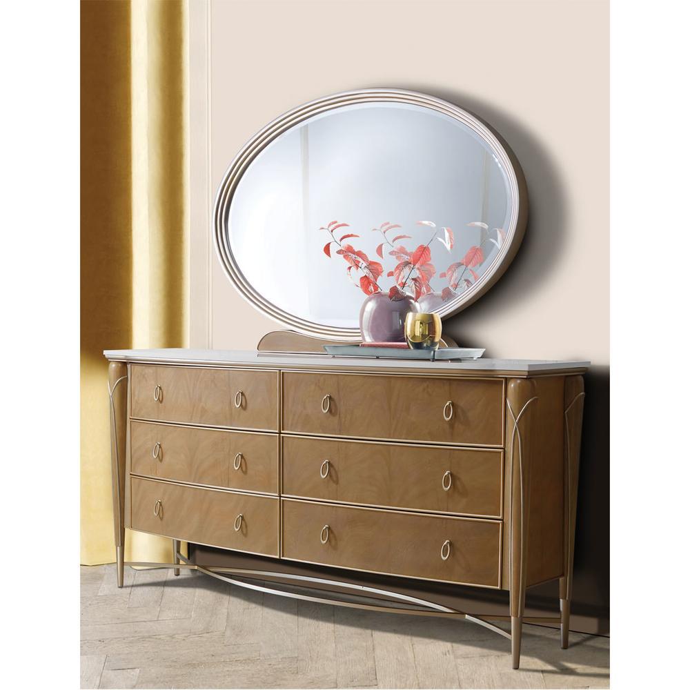 See Details - Storage Console- Dresser & Mirror