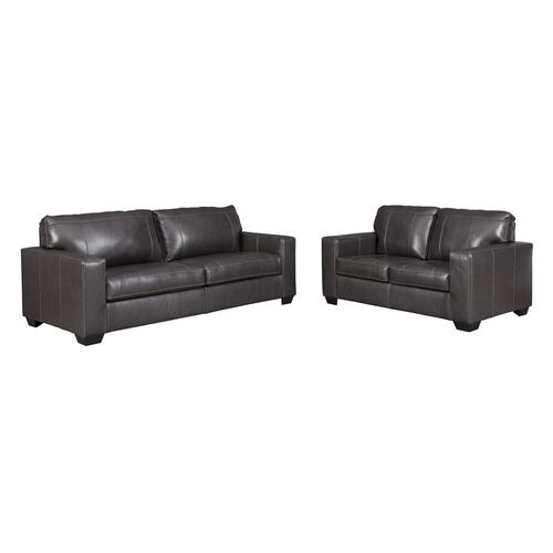 Ashley Furniture - Morelos Sofa & Loveseat Gray