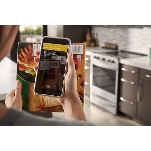 Whirlpool Canada - 6.4 Cu. Ft. Smart Slide-in Electric Range with Frozen Bake™ Technology
