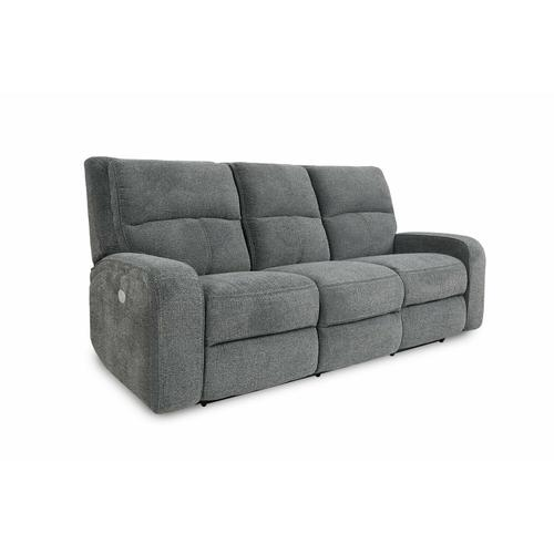 POLARIS - BIZMARK GREY Power Sofa