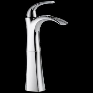 Single Handle Centerset Bathroom Faucet with Riser Product Image