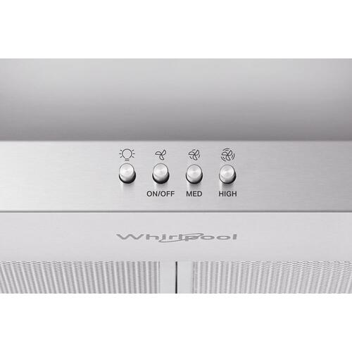 "Whirlpool - ENERGY STAR® Certified 36"" Chimney Wall Mount Range Hood"