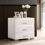 Malte Night Stand w/ 3 Drawers Product Image