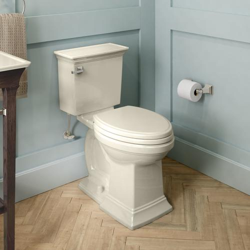 Town Square S Right Height Elongated Toilet  American Standard - Linen