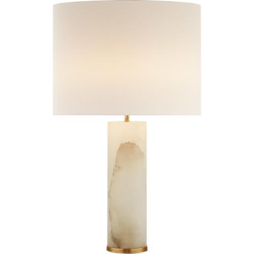 AERIN Lineham 30 inch 60 watt Alabaster Table Lamp Portable Light
