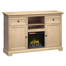 See Details - FT63A Extra Tall Fireplace Custom TV Console