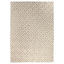Tessellating Rug-Ivory/Grey-9 x 12