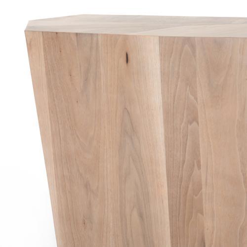 Ashen Walnut Finish Brooklyn Console Table