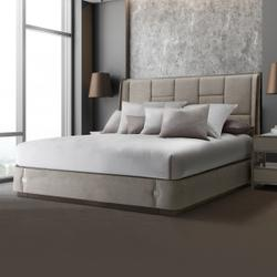 Eastern King Multi-panel Bed (3 Pc)