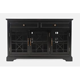 "Craftsman 50"" Media Unit - Antique Black"