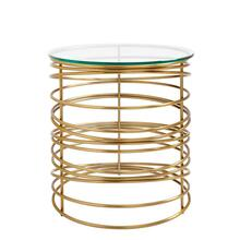 Latitude Round Lamp Table - Binnacle