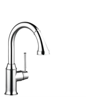 Chrome Prep Kitchen Faucet, 2-Spray Pull-Down, 1.75 GPM Product Image