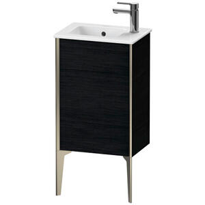 Duravit - Vanity Unit Floorstanding, Black Oak