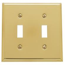 See Details - Polished Brass Beveled Edge Double Toggle