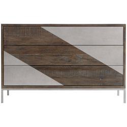 Eastman Hall Chest in Sable Brown, Gray Mist