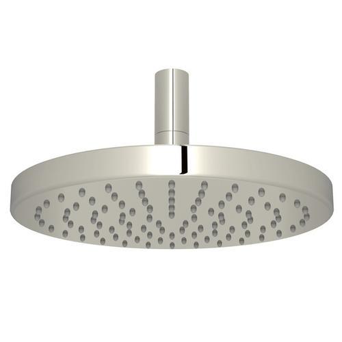 "Polished Nickel 8"" Elios Rain Showerhead"