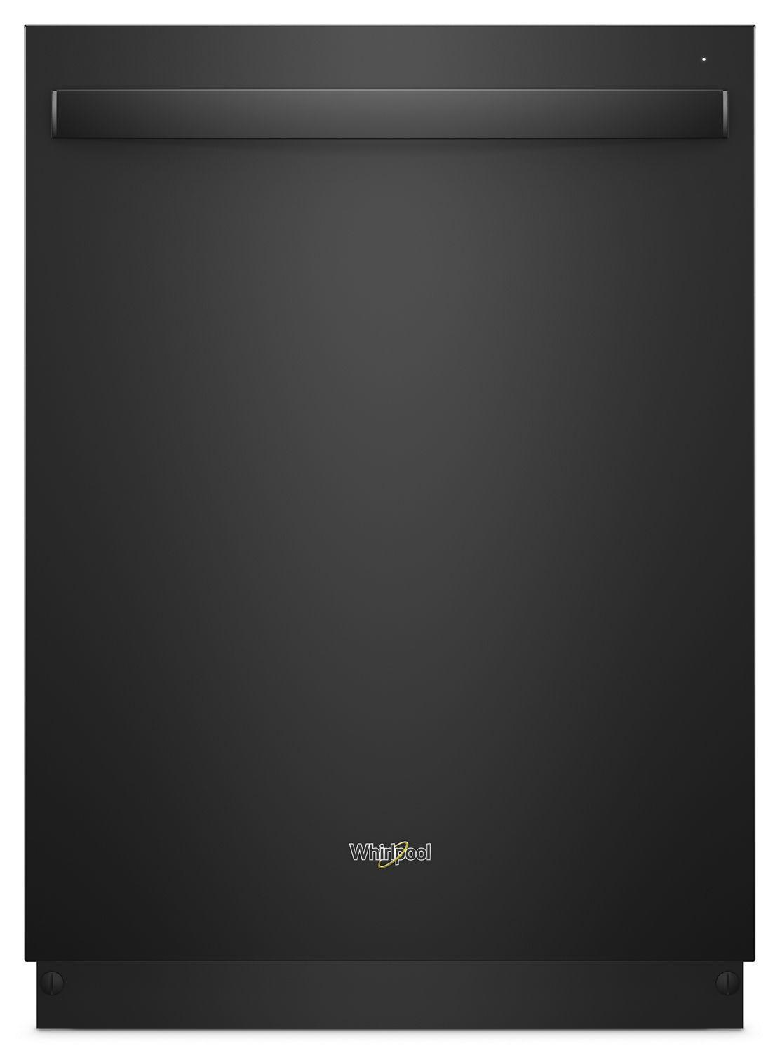 WhirlpoolStainless Steel Tub Dishwasher With Third Level Rack Black