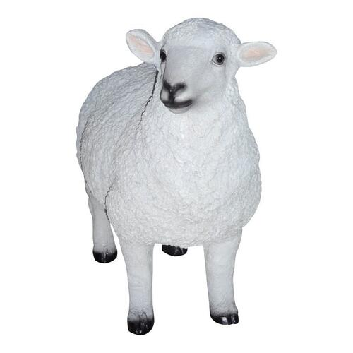 Dolly Sheep Statue White