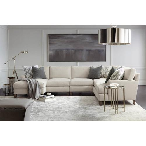 Mila Sectional in Aged Gray (788)
