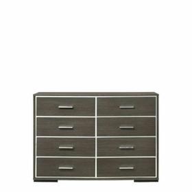 ACME Escher Dresser - 27655 - Contemporary - Melamine Veneer, MDF, PB - Gray Oak