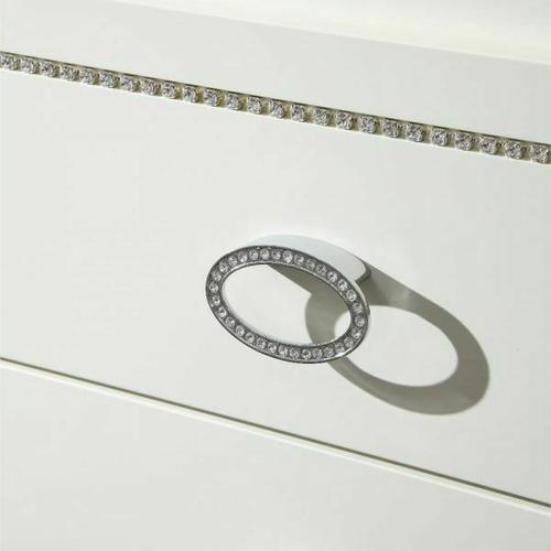 ACME Bellagio Dresser - 20395 - Ivory High Gloss