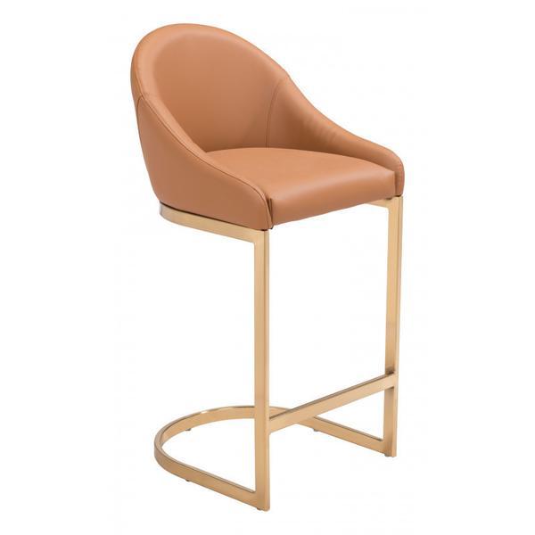 Scott Counter Chair Tan