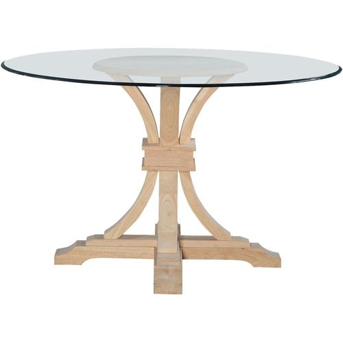 """Flair Pedestal Base for Glass Top. Glass sold seperetly (48""""Diameter = Glass-48B)."""