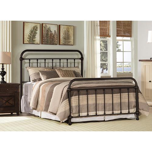 Product Image - Kirkland King Bed Set - Dark Bronze