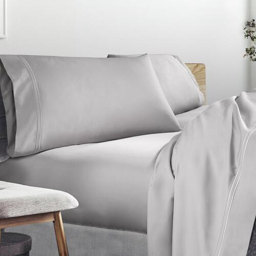 Refreshing Tencel Sheet Set - Dove Gray / Split Cal King