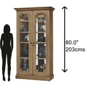 Howard Miller Chasman II Curio Cabinet 670011 Product Image