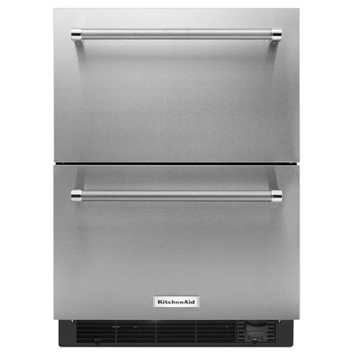"24"" Stainless Steel Refrigerator/Freezer Drawer Stainless Steel"