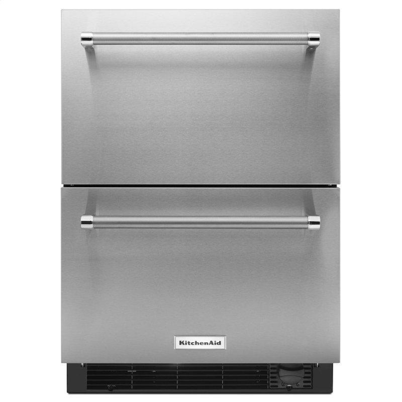 "24"" Stainless Steel Refrigerator/Freezer Drawer Stainless Steel"