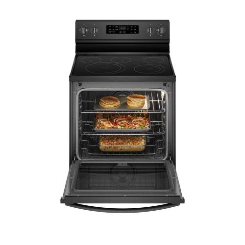 Whirlpool Canada - 6.4 Cu. Ft. Freestanding Electric Range with Frozen Bake Technology