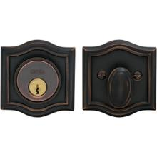 Arched Auxiliary Deadbolt Kit in (TB Tuscan Bronze, Lacquered)