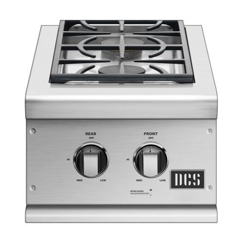 """DCS - 14"""" Double Side Burner, Lp Gas"""