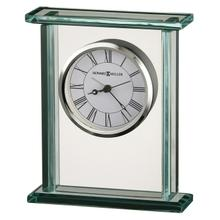 Howard Miller Cooper Glass Alarm Clock 645643