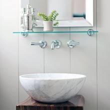 Urban Vessel Sink Carrara Marble