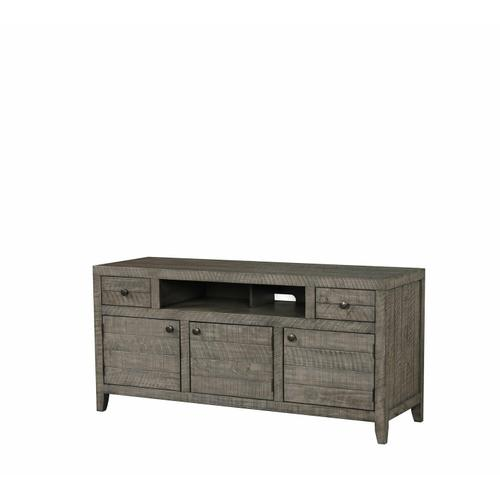 Parker House - TEMPE - GREY STONE 63 in. TV Console