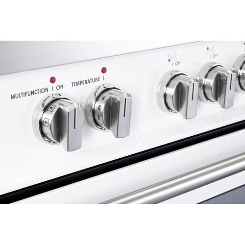 """White 36"""" Dual Fuel - Designer Series"""