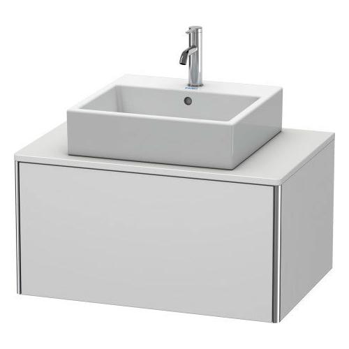Duravit - Vanity Unit For Console Wall-mounted, White Satin Matte (lacquer)