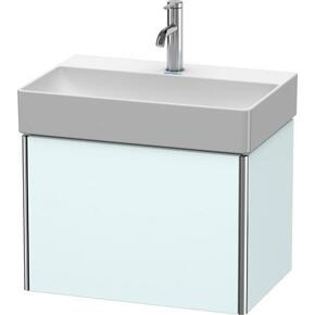 Vanity Unit Wall-mounted Compact, Light Blue Matte (decor)