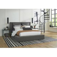 See Details - HEAVENLY - FLAX CHARCOAL Queen Bed with Comfort Pillows 5/0