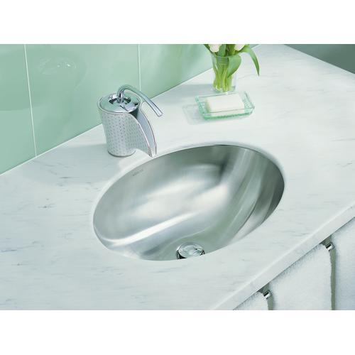 Undermount Bathroom Sink With Satin Finish